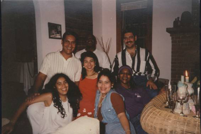 Francisco Avila's family in Venezuela