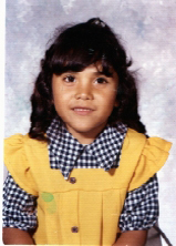 Lupe Martinez as a 5-year old