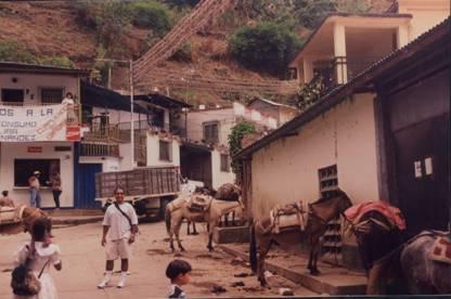 In a rural town in Venezuela